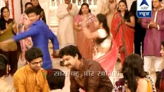 Siddhant-Roli perform on Prem's engagement in 'Sasural...'