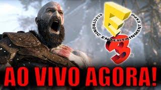 E3 2017 AO VIVO - CONFERÊNCIA DA SONY COM GOD OF WAR!