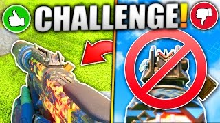HIP-FIRE ONLY CHALLENGE! (CHALLENGE ME)