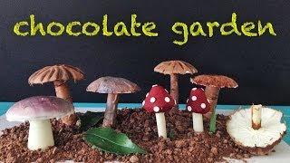 Chocolate Garden HOW TO COOK THAT Garnish Decoration Dessert Recipe Ann Reardon