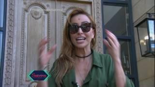 Duda Nagle surpreende Sabrina Sato durante gravação no Líbano