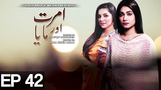 Amrit Aur Maya - Episode 42 on Express Entertainment