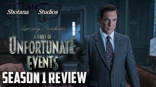 A Series of Unfortunate Events (Netflix Series) | Season 1 Review (Spoiler Free)