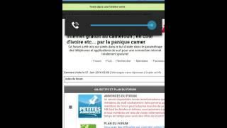 Internet gratuit orange Cameroun du mois de juin 2016 by lapaniquecamer