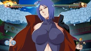 THE ULTIMATE KONAN MOVESET! Naruto Storm 4 Road to Boruto DLC MOD Gameplay!