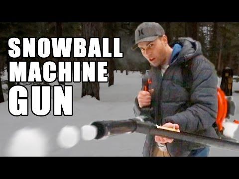 Snowball Machine Gun How to make