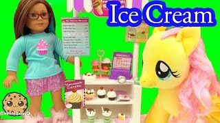 Download My Life As Ice Cream Snack Food Stand Playset Play with American Girl Doll - Cookie Swirl C Video 3Gp Mp4