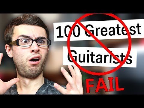 WORST 'Top 100 Guitarists List' EVER! Video Clip
