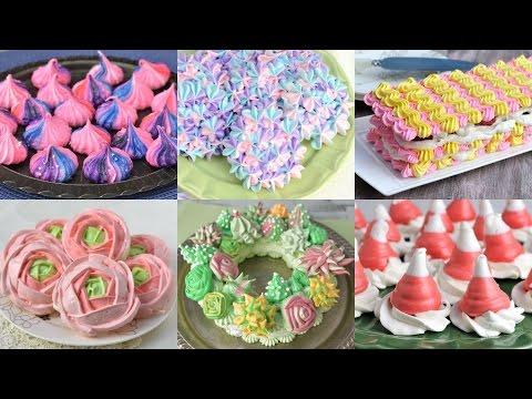 MOST SATISFYING  MERINGUE CAKES  AND COOKIES, HANIELA'S