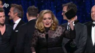 'Rumor Has It' Adele's Rolling in the Grammys