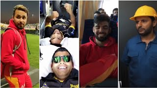 International cricketers listening to punjabi music + hassan ali, shadab khan having fun psl 4 2019