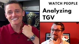 Watch People: Analyzing TGV of the Urban Gentry
