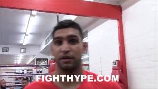AMIR KHAN DESCRIBES CANELO'S KO POWER; KEEPS IT REAL ON HANDLING LOSS AND FUTURE PLANS