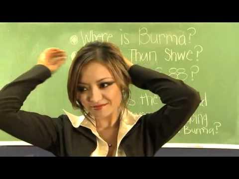 sexy teacher ever - hot hot-  Myanmar Burma It Can_t Wait