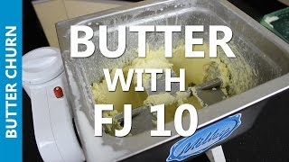 Homemade Butter in a Few Minutes with MILKY FJ10 Butter Churn