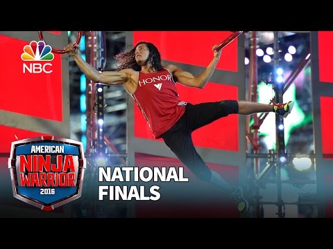 Daniel Gil at the National Finals Stage 2 American Ninja Warrior 2016