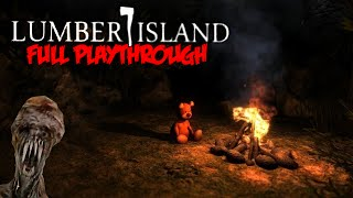 Lumber Island: That Special Place - A Decent Unity Indie Horror Game?! (Gameplay / Walkthrough)