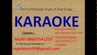 Kora Kaagaz Tha maan Karaoke Track