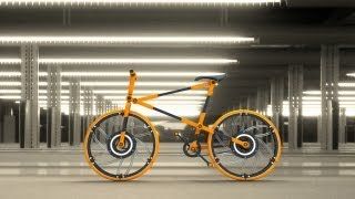 Compactable Urban Bicycle | ECO 07 By. Victor Aleman