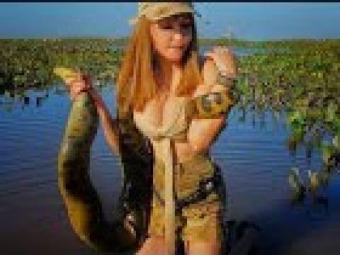 ANACONDA BIGEST SNAKE SNAKEWOMAN,,Anaconda vs. , Atak اكبر ثعبان في العالم
