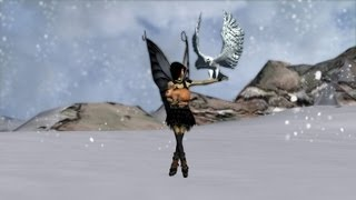 Fairy Belly Dancer and the Snow Falcon -Fairies The Movie # 23