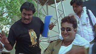 Sankarabharanam Pruthvi Spoof as Hero - Comedy At Shooting Spot || Evandoi Srivaru Movie Scenes