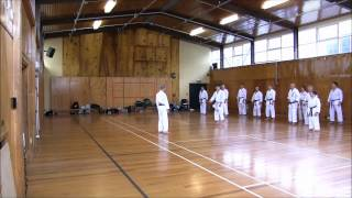 Keigo Abe Shihan Seminar - Christchurch, New Zealand 2012 (DAY TWO)