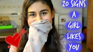 20 Signs a Girl Likes You