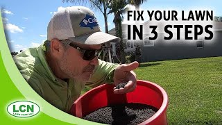 Lawn Care Tips for Beginners | Fix Your Lawn In 3 Steps