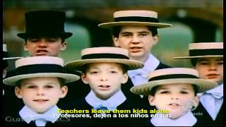 Pink Floyd - Another Brick in the Wall HD - Español / Inglés