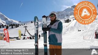 2016 / 2017 | Atomic Vantage 90 CTi Skis | Video Review