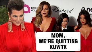 Keeping Up With The Kardashians CANCELLED, Kris Jenner REACTS!