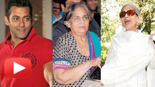 Salman Khan's Mother In A Slimmer Look - Salma Khan Then And Now