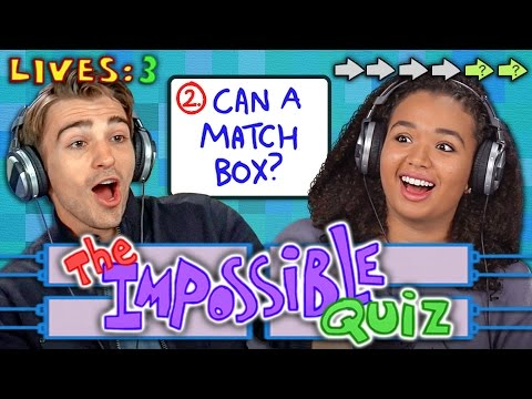 THE IMPOSSIBLE QUIZ REACT Gaming
