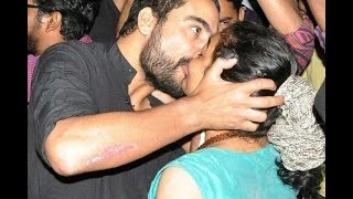 Mallu actress Arundhathi hotest kiss