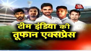 India bowlers analysis about England tour   Team India s Tufan Express