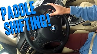 How to Paddle Shift a BMW + How it works!