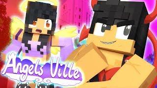 LET ME FLIRT! | Angelsville Minecraft Survival [Ep.2]
