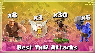 Best Th12 Army: 8 GIANTS+30 HOGS+3 HEALERS+6 BOWLERS | TH12 War Strategy #59 | COC 2018 |