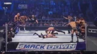 SmackDown: 10-Man Tag Team Match 4 November 2010 Part 2