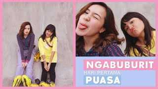 Beby Vlog #61 - NGABUBURIT HARI PERTAMA PUASA !!🥰