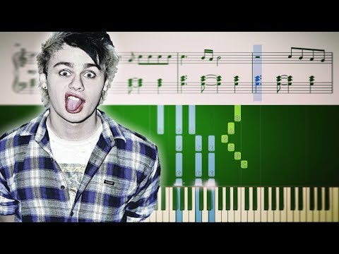 5 Seconds of Summer - Youngblood - Piano Tutorial + SHEETS