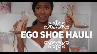 EGO OFFICIAL FAVOURITES SHOE HAUL - Heels & Sliders!