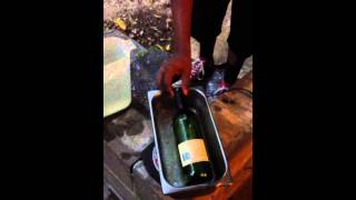 How to cut glass bottles in half perfect every time!