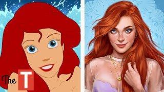 10 Disney Princesses Reimagined As Modern Day Bad Girls