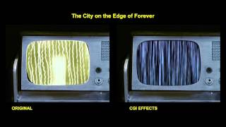 Star Trek - The City on the Edge of Forever - special effects comparison