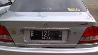Dijual Mobil Bekas Honda City Z Vtec 2001 At Silver Tinggal Pake