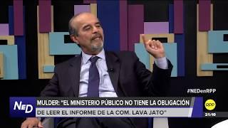 """Mauricio Mulder: """"Alan García aparece en el informe Lava Jato pero no como imputado"""""""
