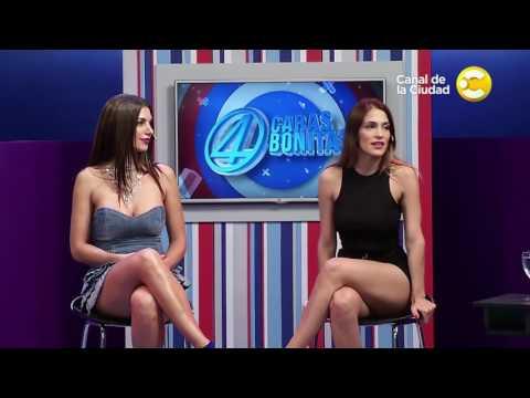Coty Alvarez & Valeria Degenero DAMN hot legs 4 Caras Bonitas 03 23 17