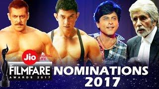 62nd Jio Filmfare Awards 2017 - Full Nominations List - Best Actor, Best Actress...